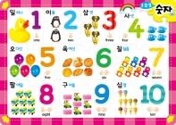 IQ.EQ 우리 아이 첫 퍼즐: 123 숫자