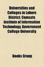 Universities and Colleges in Lahore District