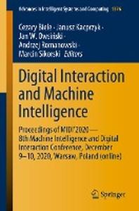 Digital Interaction and Machine Intelligence