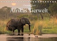 Afrikas Tierwelt Christian Heeb (Tischkalender 2022 DIN A5 quer)