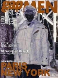 GAP PRESS MEN VOL.59 PARIS,NEW YORK MEN'S COLLECTIONS 20-21A&W