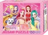 시크릿쥬쥬 별의 여신 직소퍼즐150pcs: 별자리