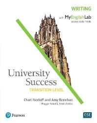 University Success Writing Transition w/MEL
