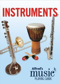 Alfred's Music Playing Cards -- Instruments