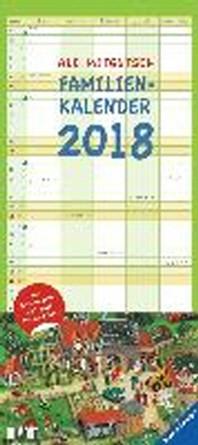 Ali Mitgutsch Familienkalender 2018- Rundherum in Stadt und Land