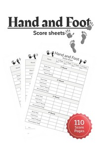 Hand and Foot Score Sheets
