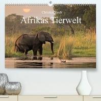 Afrikas Tierwelt Christian Heeb (Premium, hochwertiger DIN A2 Wandkalender 2022, Kunstdruck in Hochglanz)