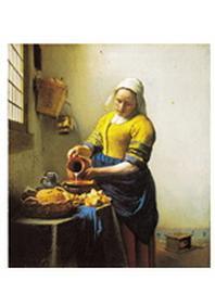 재원브로마이드. 36: 베르메르/우유를 따르는 여인