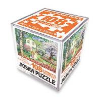 빨강머리 앤 직소퍼즐 미니 큐브 108pcs: 꽃나들이