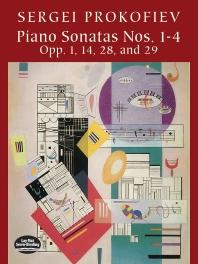Piano Sonatas Nos. 1-4: Opp. 1, 14, 28, and 29 ( Dover Music for Piano )