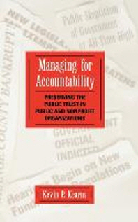 Managing for Accountability : Preserving the Public