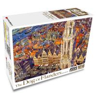 플란다스의 개 직소퍼즐 1014pcs: 플랑드르성당의 여름(인터넷전용상품)