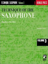 Technique of the Saxophone - Volume 3: Rhythm Studies