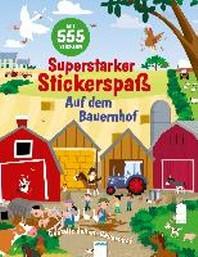Superstarker Stickerspass. Auf dem Bauernhof