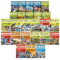 브리태니커 만화 백과 시리즈 1~25권 세트(아동학습만화7권+노트+문구세트 증정)