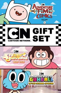 Cartoon Network Graphic Novel Gift Set