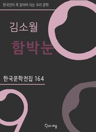 김소월 - 함박눈