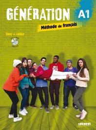 Generation 1 niv.A1 - Livre + Cahier + CD mp3 + DVD