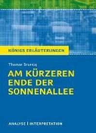 Am kuerzeren Ende der Sonnenallee. Textanalyse und Interpretation zu Thomas Brussig