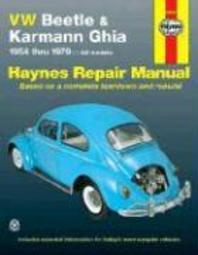 VW Beetle & Karmann Ghia 1954 Through 1979