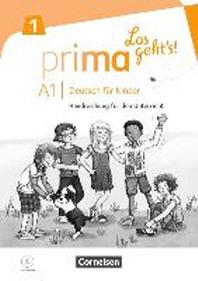 Prima - Los geht's! Band 1 - Handreichungen fuer den Unterricht mit Kopiervorlagen und Audio-CD