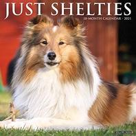 Just Shelties 2021 Wall Calendar (Dog Breed Calendar)