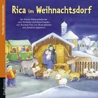 Rica im Weihnachtsdorf