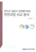 한국과 일본의 정책평가제도 변천과정 비교 분석