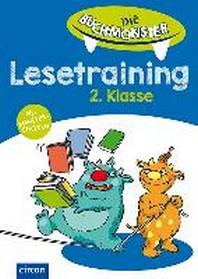 Die Buchmonster - Lesetraining 2. Klasse