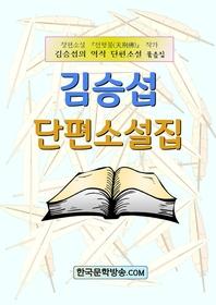 김승섭 단편소설집