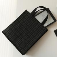 사람과책 미니북백 패턴 블랙