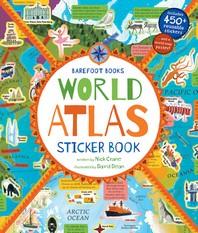 Barefoot Books World Atlas Sticker Book