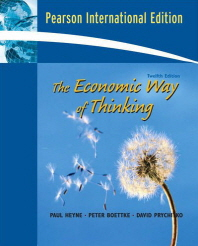 Economic Way of Thinking 12/E