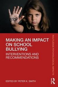 Making an Impact on School Bullying