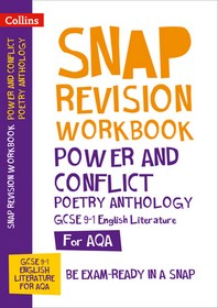 Collins GCSE 9-1 Snap Revision - Power & Conflict Poetry Anthology Workbook