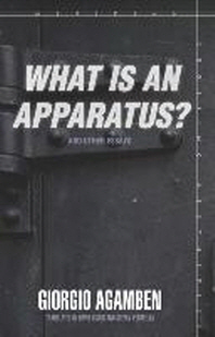 "What Is an Apparatus?"" and Other Essays]]stanford University Press]bc]b102]05/01/2009]phi019000]160]16.95]21.95]ip]ac]r]r]stan]]]01/01/0001]p080]stan"