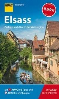 ADAC Reisefuehrer Elsass