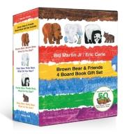 노부영 Brown Bear & Friends 4 Board Book Gift Set
