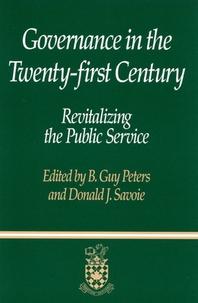 Governance in the Twenty-First Century
