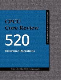 CPCU CORE REVIEW 520, INSURANCE OPERATIONS