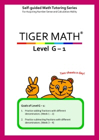 Tiger Math Level G-1