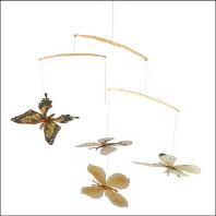 한국의 나비 4종 모빌세트