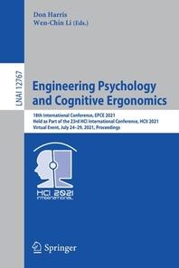 Engineering Psychology and Cognitive Ergonomics