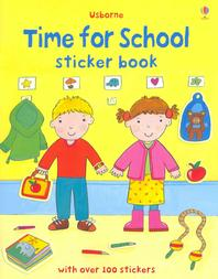 Time for School Sticker Book
