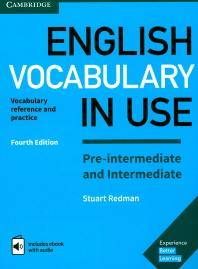English Vocabulary in Use: Pre-Intermediate and Intermediate with eBook