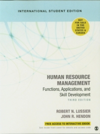 Human Resource Management : Functions, Applications, and Skill Development