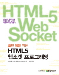 모던 웹을 위한 HTML5 웹소켓 프로그래밍