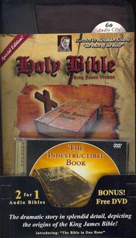 Scourby Complete Audio Bible-KJV [With Bible on MP3 Disks and The Indestructable Book]