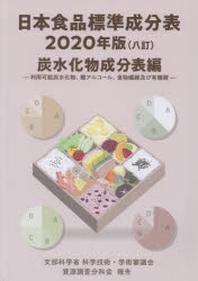 日本食品標準成分表 文部科學省科學技術.學術審議會資源調査分科會報告 2020年版炭水化物成分表編