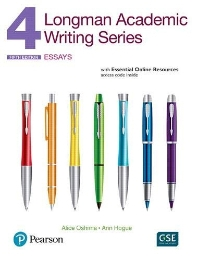 Longman Academic Writing 4 Student Book with Essential Online Resources access code 5/E